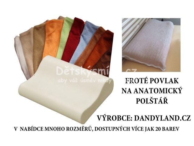 Froté povlak na anatomický polštář 50x30 cm  AP1115  c1b3f39b25